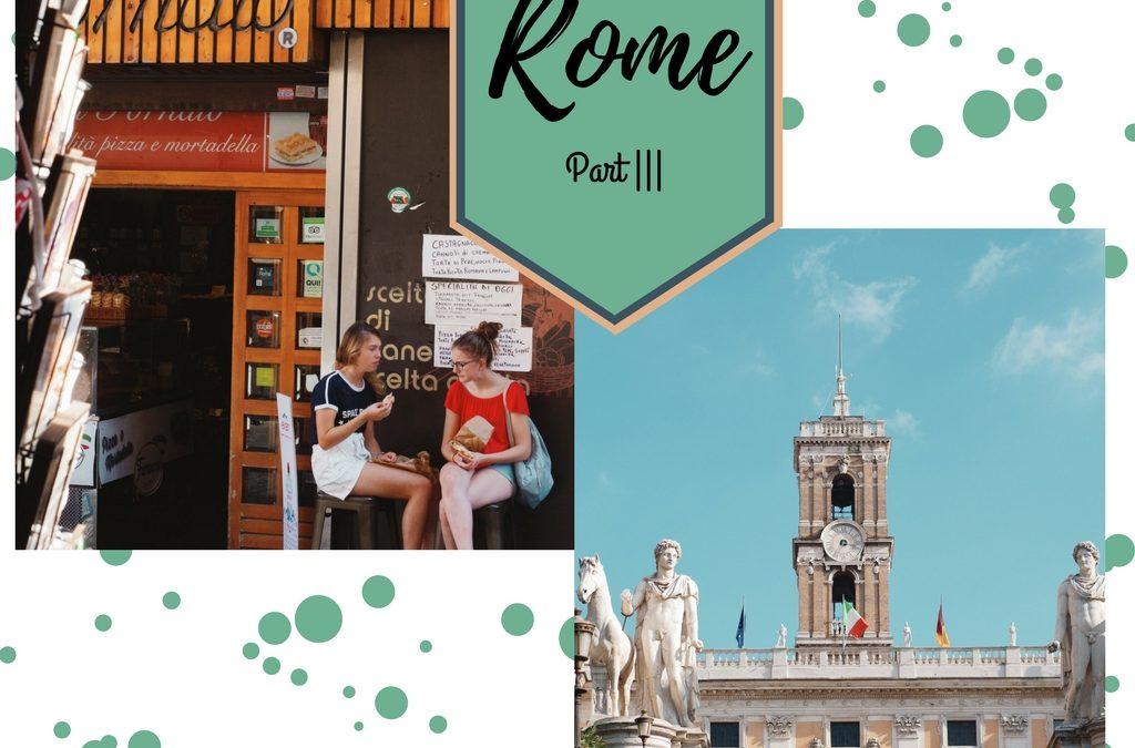 Rome Part ||| ~ Heel Veel Gelato