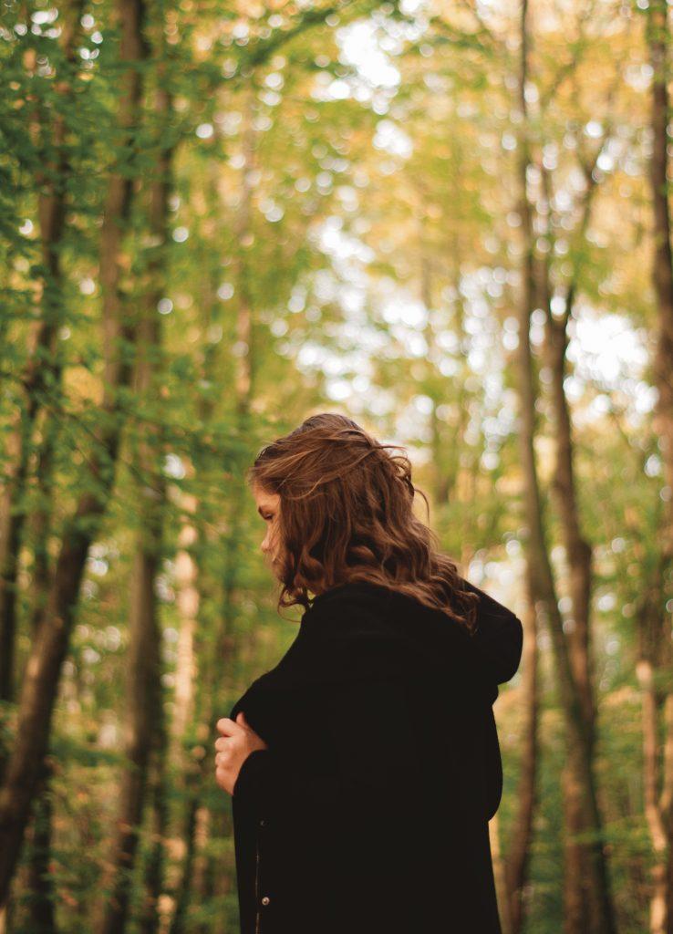 Vera in het bos