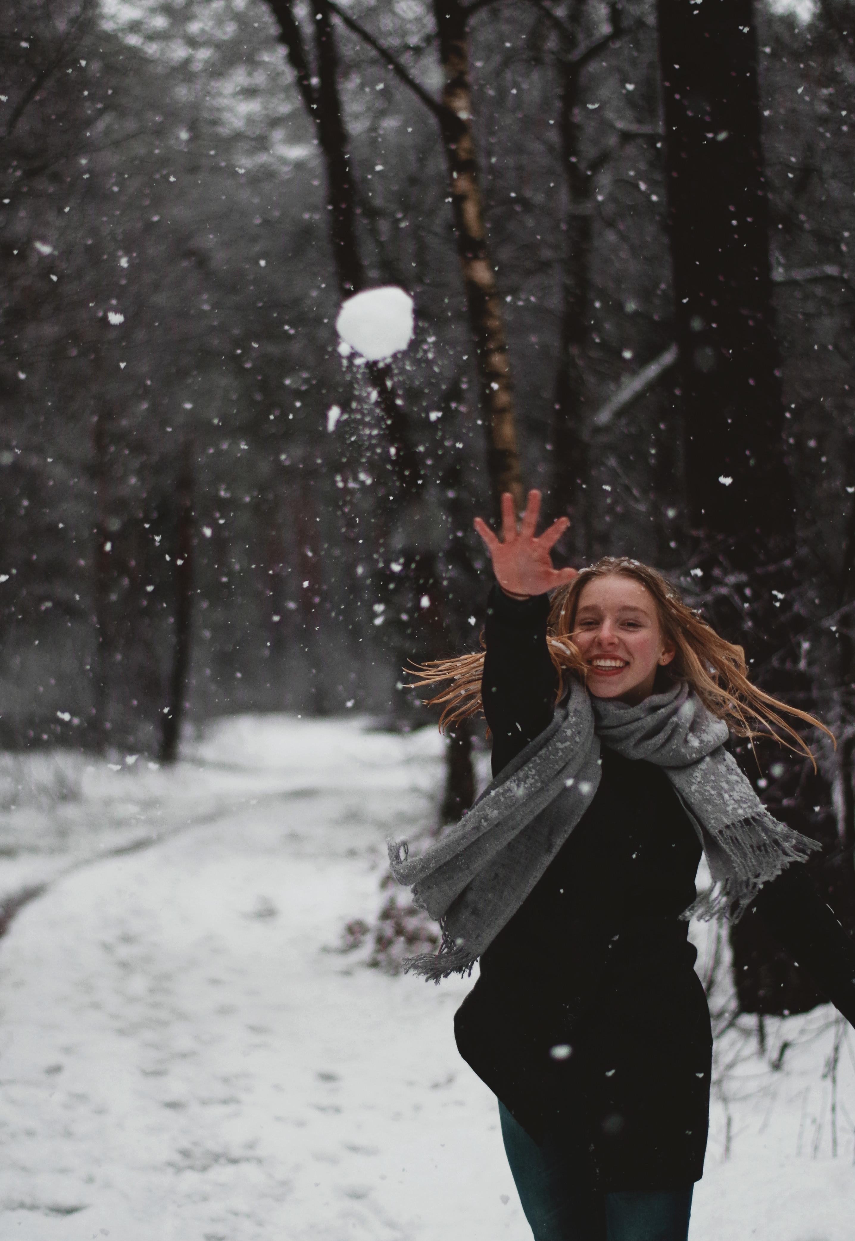 Snowbal fight