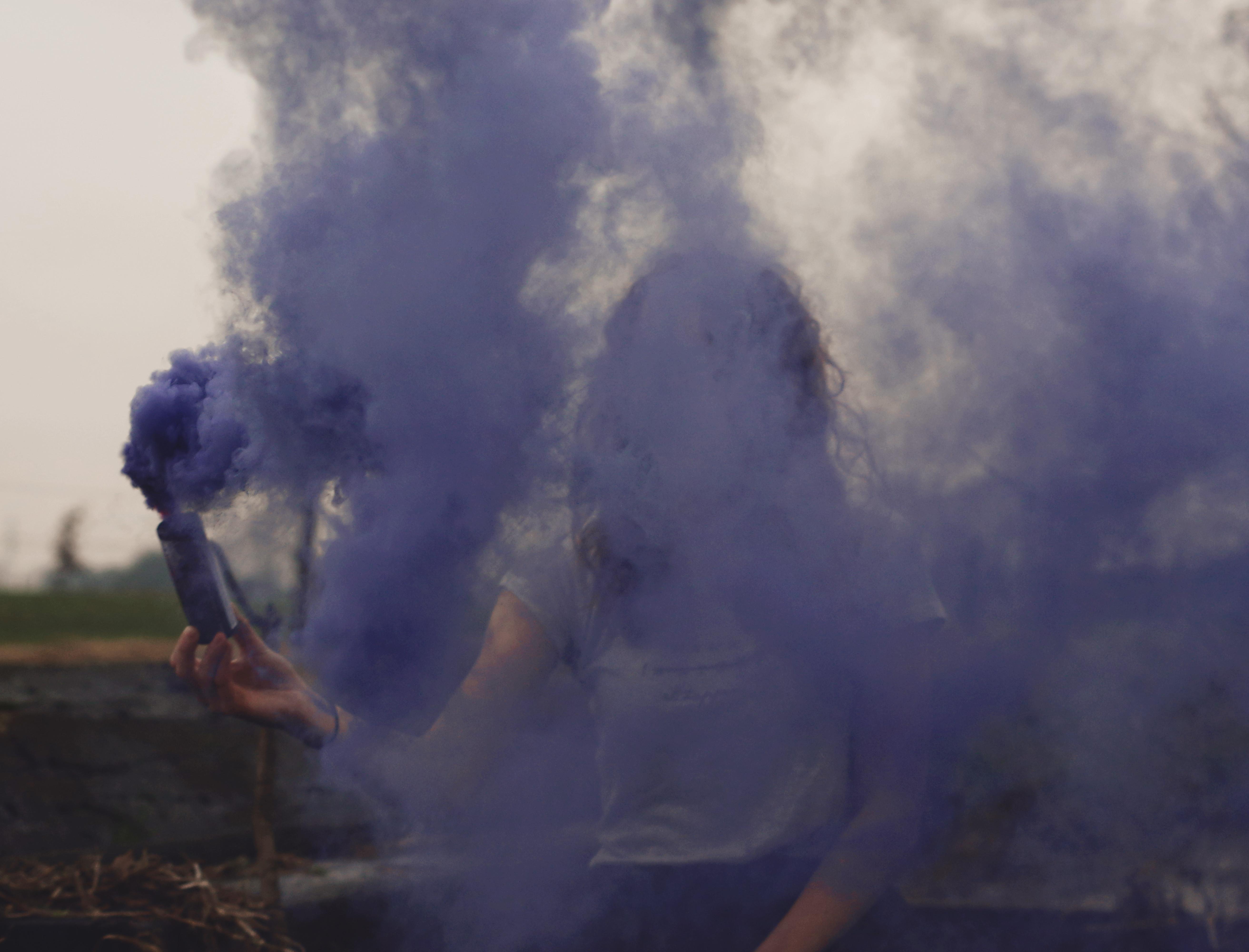 heel veel rook