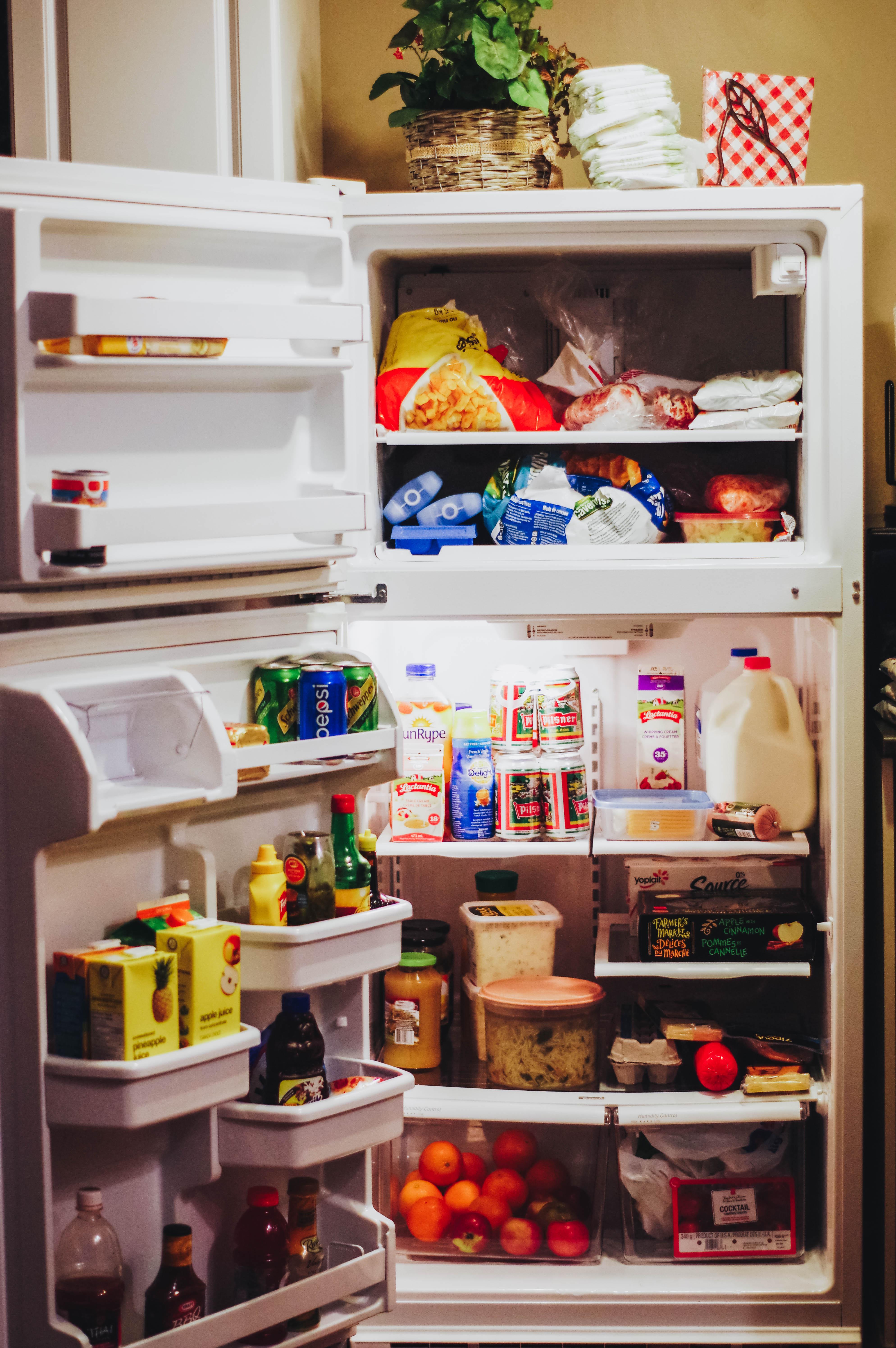 volle koelkast