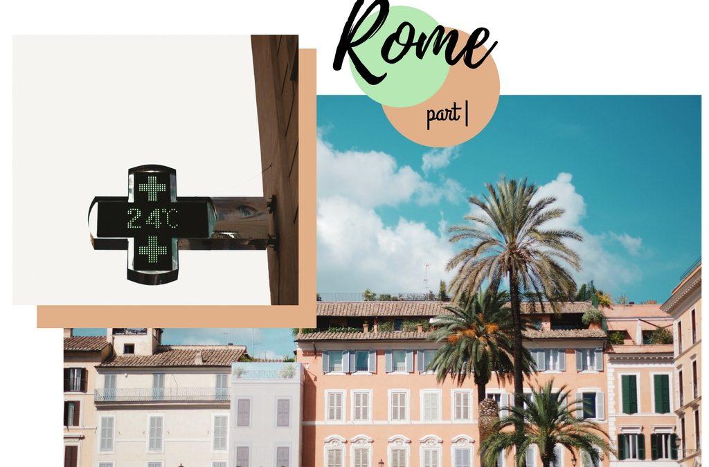 Rome part |  ~ Colosseum en Gucci