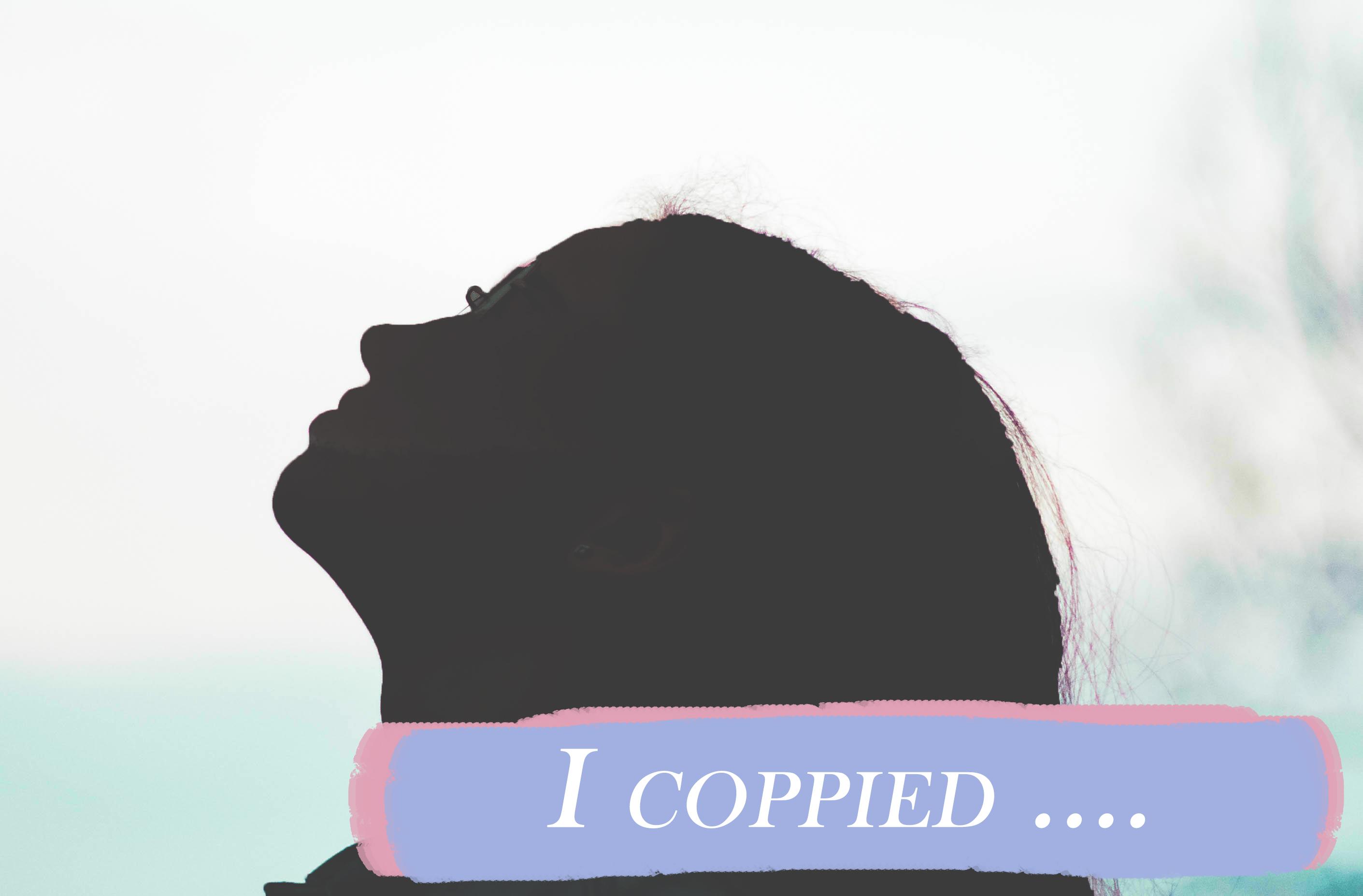 I coppied..