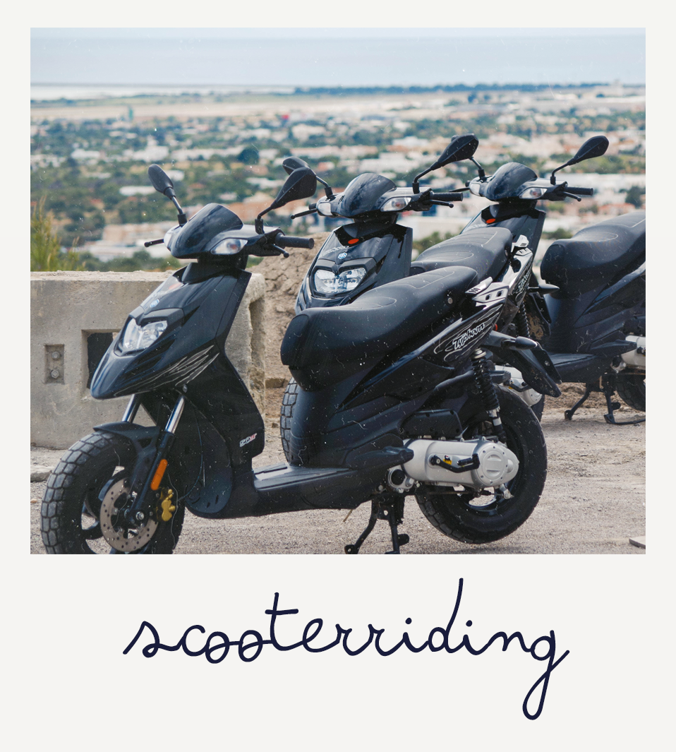 scooters op ibiza