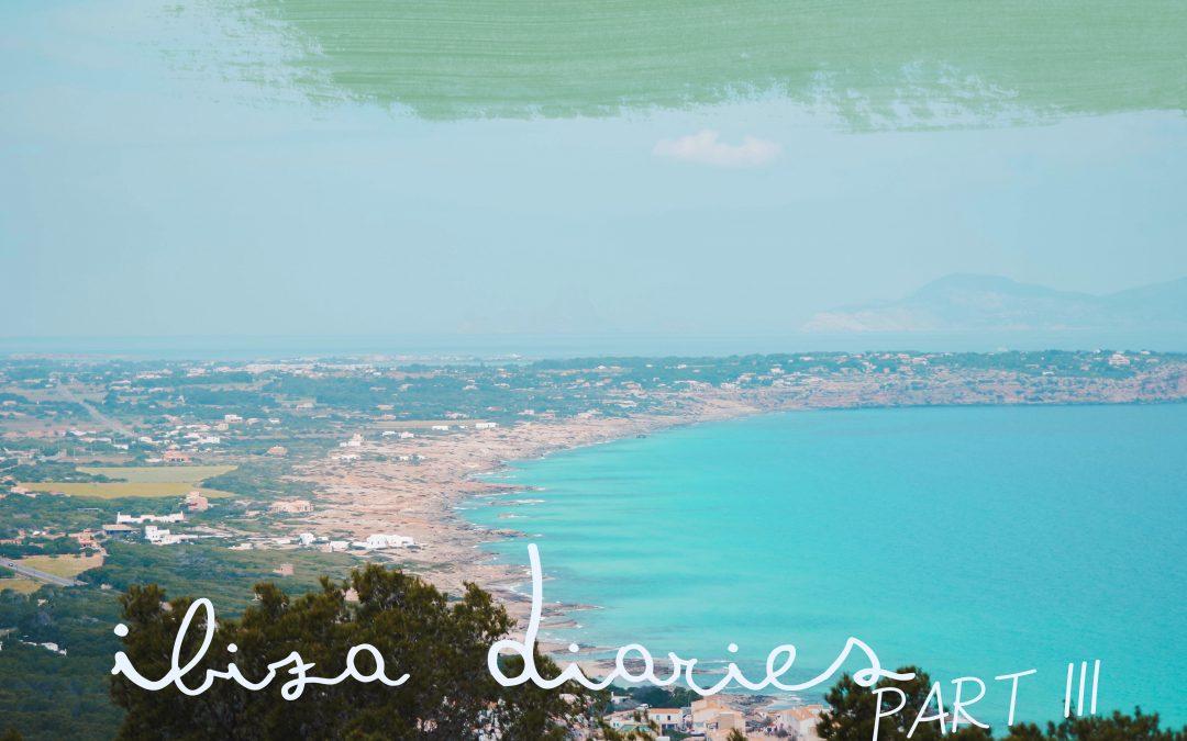 Ibiza Diaries III   Formentera, met het blauwe water